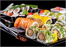 ilustrační obrázek ke slevové akci: Bohaté prázdninové SUSHI menu