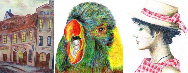 Kresba Malba Decupage To Vse Se Muzete Naucit Za Pouhy Vikend V
